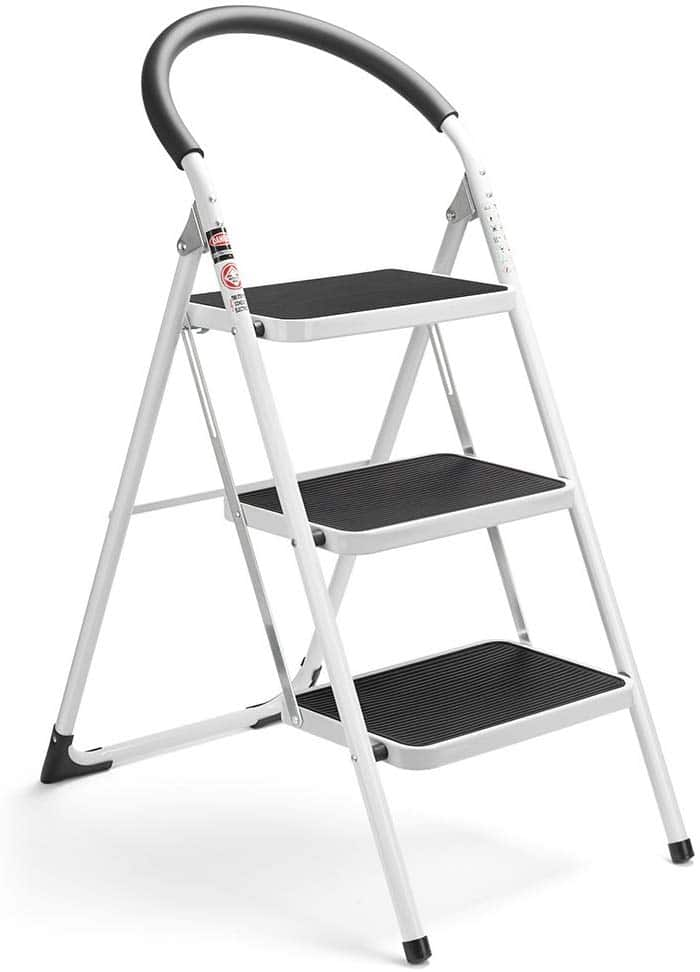 Delxo-Folding-Stepladders-Handgrip-Anti-slip