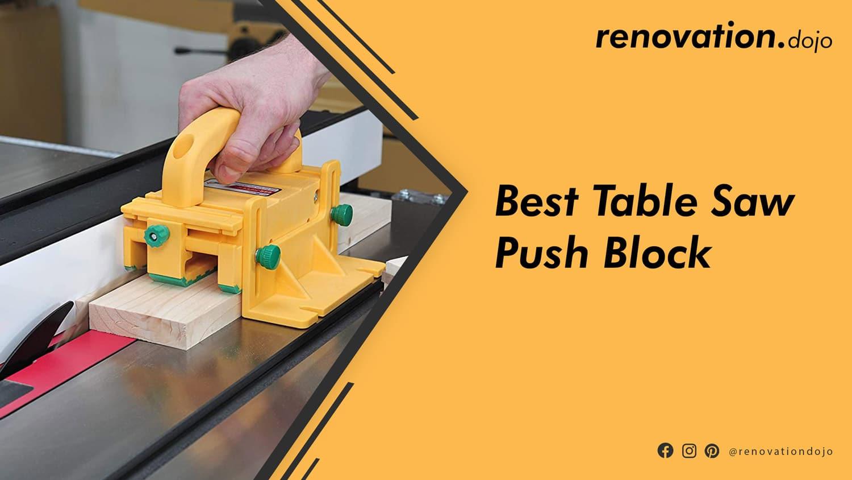 best-table-saw-push-block